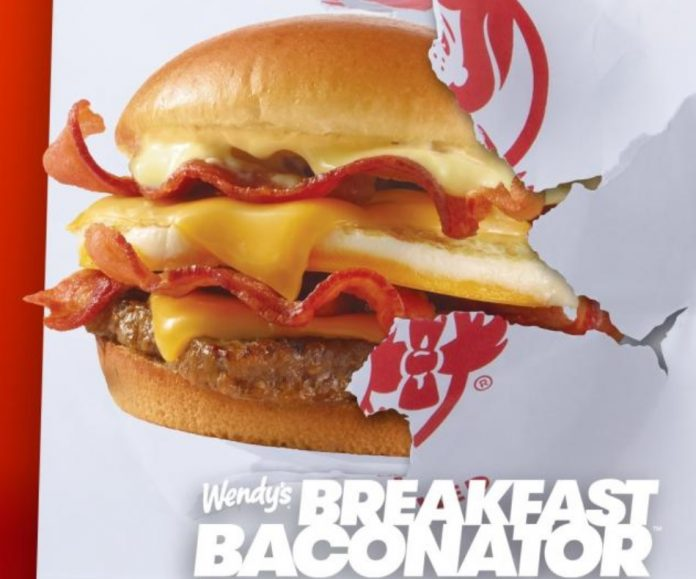 Wendy's Offers Free Breakfast Baconator With Any App Purchase