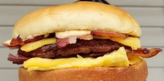 Burger King Spotted Selling New Breakfast Bacon King