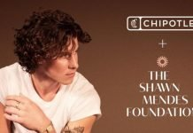 Chipotle Launches New Shawn Mendes Bowl