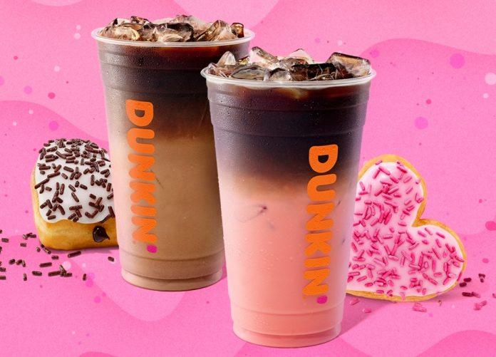 Dunkin' Brings Back Pink Velvet Macchiato, Mocha Macchiato And Cupid's Choice Donut For Valentine's Day