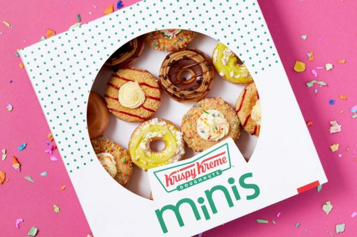 Krispy Kreme Launches New Dessert Minis Collection