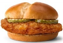 McDonald's Introduces New Crispy Chicken Sandwich And New Spicy Chicken Sandwich