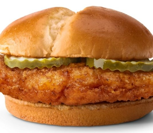 McDonald's Introduces New Crispy Chicken Sandwich And New Spicy Chicken Sandwich