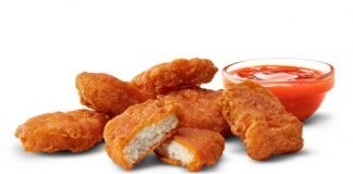 McDonald's Quietly Adds Spicy Chicken McNuggets To The Menu
