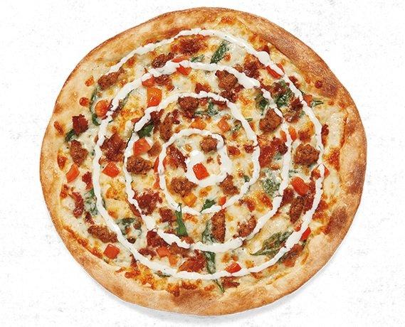 New Wayne Pizza And Green Goddess BLT Salad Land At Mod Pizza