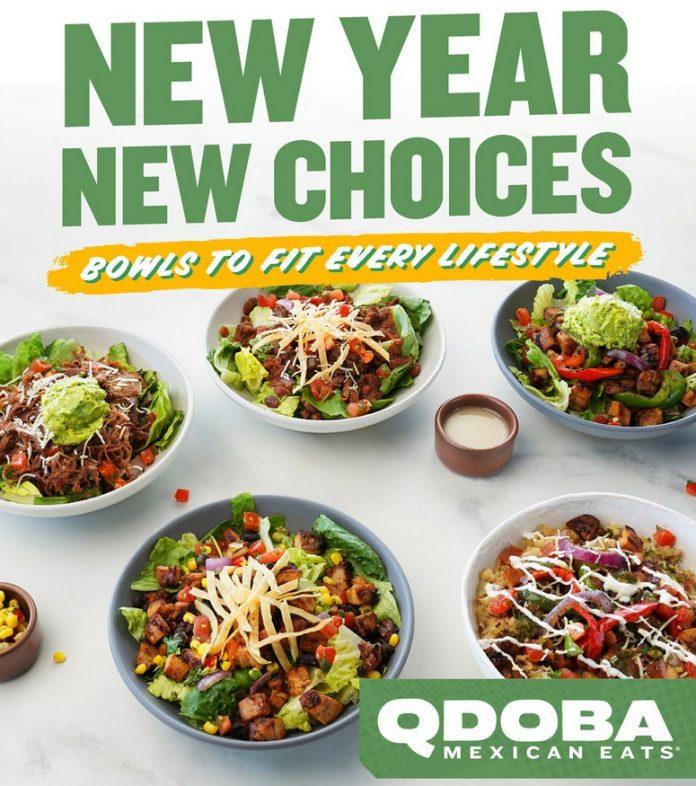 Qdoba Unveils New Health-Conscious Menu Alongside New BOGO Deal