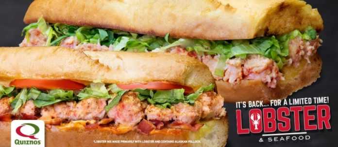 Quiznos Releases New Old Bay Lobster Club Sub And Brings Back Lobster Classic