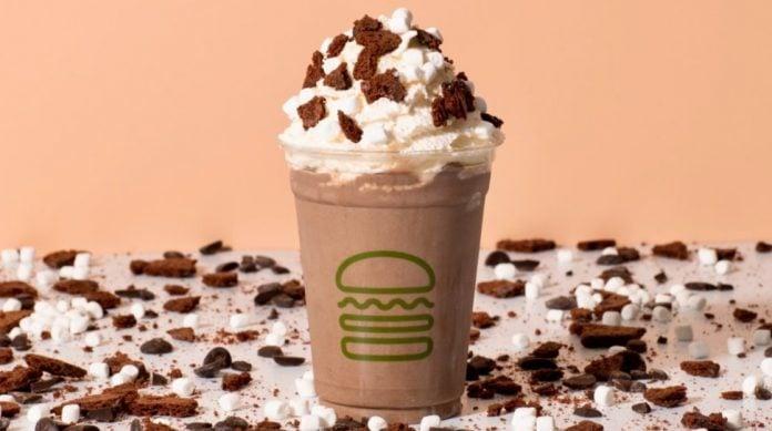 Shake Shack Blends New Brownie Batter Hot Cocoa Shake