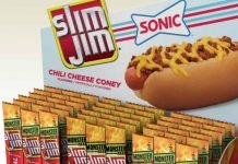 Slim Jim And Sonic Release New Chili Cheese Coney Flavored Beef Sticks