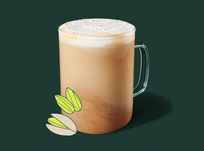 Starbucks Debuts New Pistachio Latte And New Honey Almondmilk Cold Brew As Part Of Winter Menu