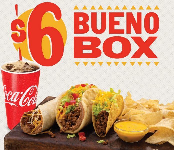 Taco Bueno Reveals New $6 Bueno Box