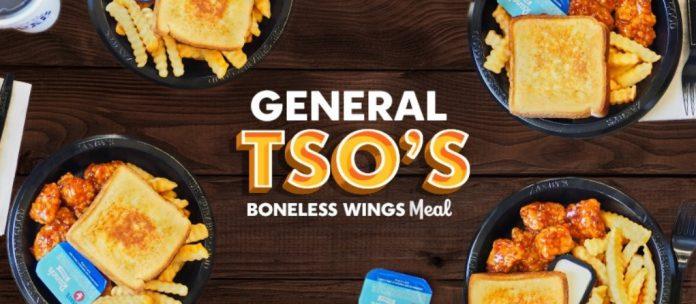 Zaxby's Reveals New General Tso's Boneless Wings Meal