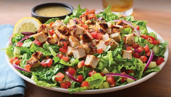 Applebee's Tosses New Tuscan Garden Chicken Salad
