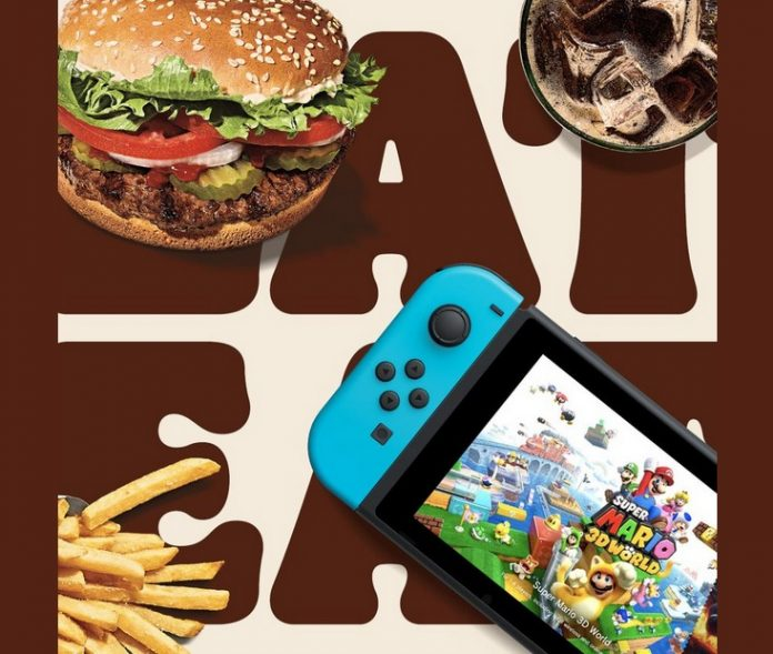Buy Burger King's New Super Mario Meal For A Chance To Win A Nintendo Switch