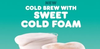 Dunkin' Pours New Cold Brew With Sweet Cold Foam, New Chocolate Stout Flavored Cold Brew With Sweet Cold Foam And New Charli Cold Foam