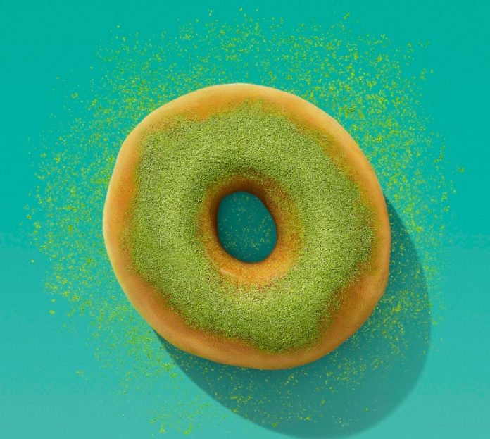 Dunkin' Unveils New Blueberry Matcha Latte And New Matcha Topped Donut