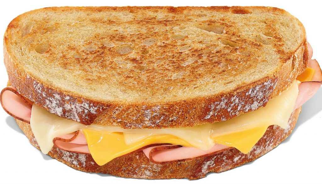 Dunkin' new Grilled Cheese Melt with Ham