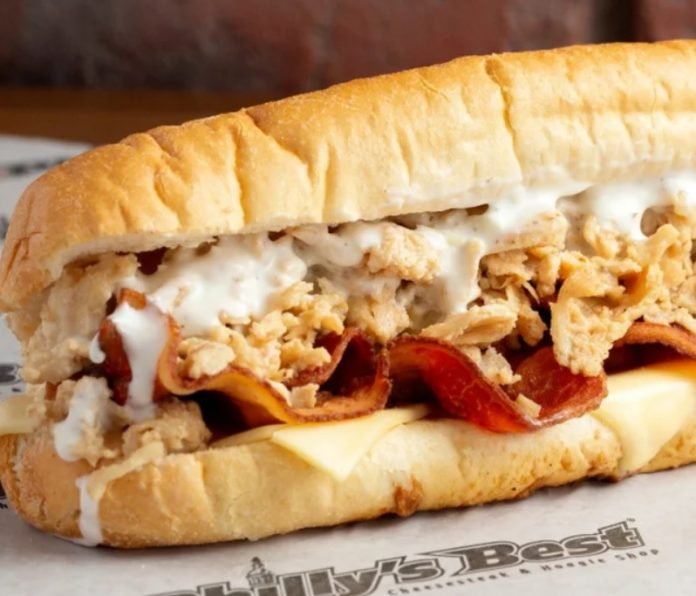 New Bacon Ranch Chicken Cheesesteak At Philly's Best