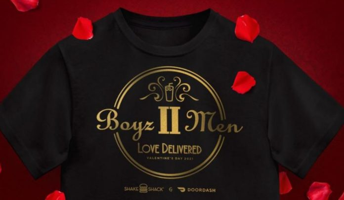Shake Shack And DoorDash Partner With Boyz II Men To Offer New Berryz II Men Chocolate-Covered-Strawberry Shake And A Valentine's Day Concert