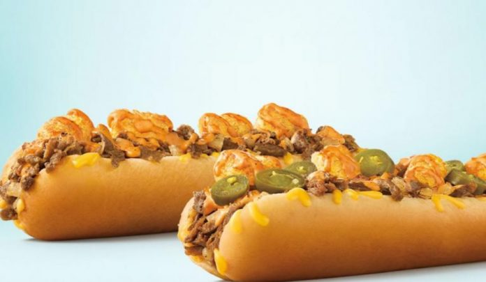 Sonic Launches New Extra-Long Ultimate Cheesesteaks Loaded with Crispy Tots