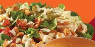 Wendy's Adds New Jalapeño Popper Salad