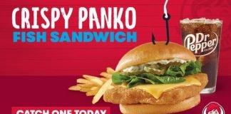 Wendy's Introduces New Crispy Panko Fish Sandwich