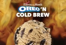 Baskin-Robbins Welcomes New Oreo 'n Cold Brew Ice Cream