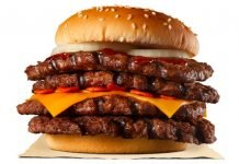 Burger King Japan Creates New Strong Magma Super One Pound Beef Burger