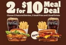 Burger King Updates Two For $10 Deal With Sourdough King