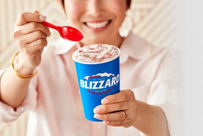 Dairy Queen Blends New Raspberry Chip Shake, Welcomes Back Frosted Animal Cookie Blizzard
