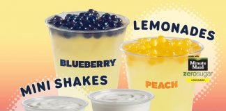 Del Taco Unveils New Peach & Blueberry Lemonade Poppers And Mini Popper Shakes With Popping Boba