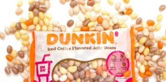 Dunkin' And Frankford Candy Release New Iced Coffee Flavored Jelly Beans
