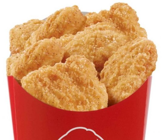 Free 10-Piece Chicken Nuggets With Any Purchase Through The Wendy's App
