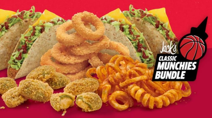 Jack In The Box Offers $10 Classic Munchies Bundle For A Limited Time