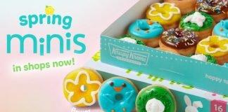 Krispy Kreme Reveals New Mini Blue Bird Donut As Part Of 2021 Spring Mini Doughnuts Collection