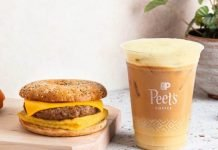 Peet's Coffee Joins Forces With Beyond Meat And Just Egg To Launch New Everything Plant-Based Sandwich