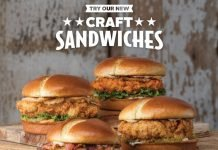 Slim Chickens Unveils New Line Of Craft Chicken Sandwiches