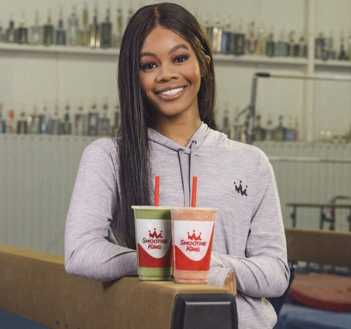 Smoothie King Launches New Collagen-Containing Stretch & Flex Smoothies In Partnership With Gabby Douglas