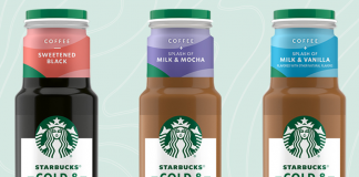 Starbucks Offers New Bottled Cold & Crafted Cold Brew Coffees