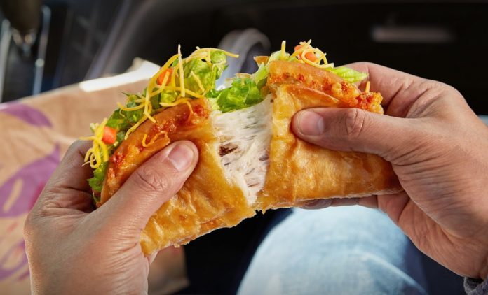 Taco Bell Welcomes Back The Quesalupa And It Has A Lot More Cheese