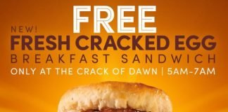Tim Hortons Introduces New Fresh Cracked Breakfast Sandwich As Part Of New Freshly Cracked Eggs Lineup