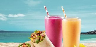 Tropical Smoothie Offers New Citrus Hawaiian Wrap And Maple-Kissed Potatoes As Part Of 2021 Spring Menu