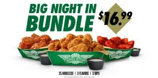 Wingstop Offers Big Night In Bundle Deal For $16.99