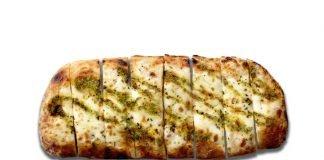 Blaze Pizza Bakes New Pesto Garlic Cheesy Bread