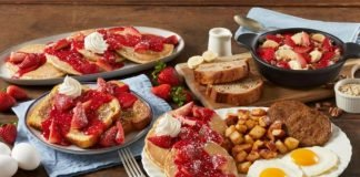 Bob Evans Serves Up New Fresh Berry Dishes For Spring And Summer 2021