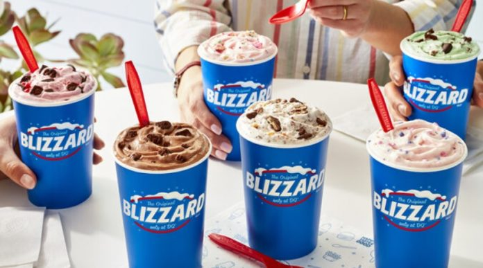 Dairy Queen Adds Girl Scout Thin Mints Blizzard And Brownie Batter Blizzard To 2021 Summer Blizzard Menu