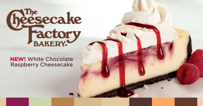 Fazoli's Adds New White Chocolate Raspberry Cheesecake Made By The Cheesecake Factory Bakery