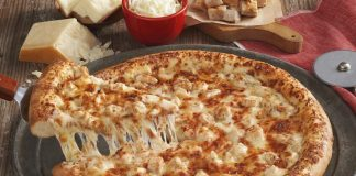 Hunt Brothers Brings Back Chicken Alfredo Pizza