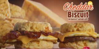 Jack In The Box Drops Three New Cheddar Biscuit Breakfast Sandwiches