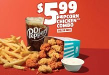 Jack In The Box Offers 50-50 Popcorn Chicken Combo For A Limited Time